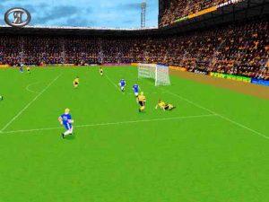 Sensible Soccer 98 en PC. No recomiendo ampliar la imagen.