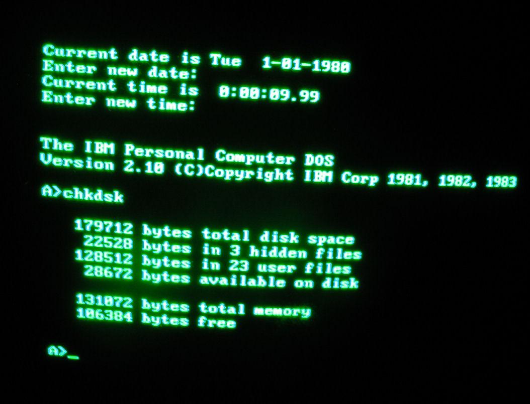 IBM Monochrome Display Adapter